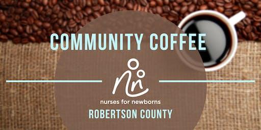 Community Coffee | Robertson County