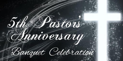 "Pastor Jabron Webster 5th Pastoral Anniversary Banquet ""Entering Into God's Grace"""