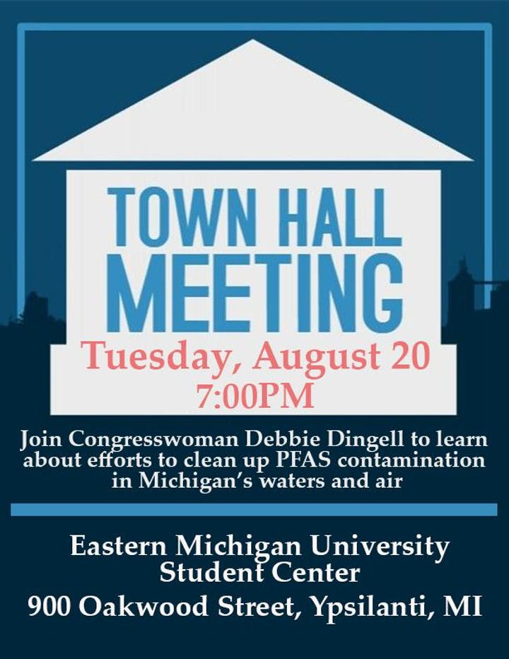 Town Hall Meeting on PFAS Tickets, Tue, Aug 20, 2019 at 7:00 PM