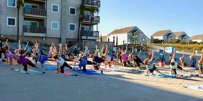 EVENING Yoga on the Beach 6 wk. session begins SEPT. 11th