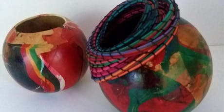 Coiling and Marbling on Gourds tickets