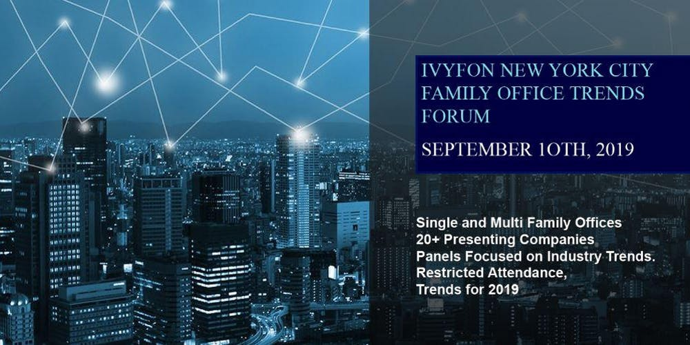 The Ivy Family Office Network (IVYFON) - Full-Day Seminar