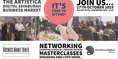The Artistica Digital Edinburgh Business Market tickets