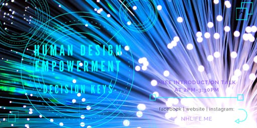 【免費】生命易圖 Human Design Empowerment Free Talk ::6種人生角色::