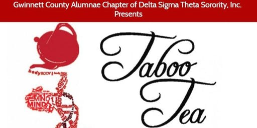 GCAC 12th Annual Taboo Tea