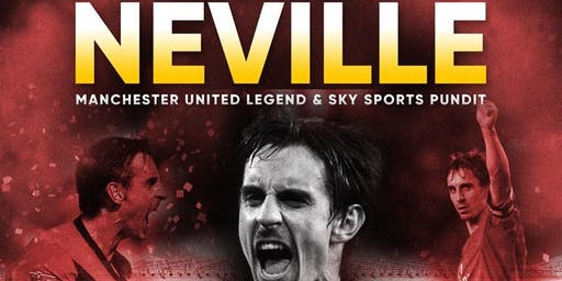 Exclusive Evening with Manchester United Legend Gary Neville