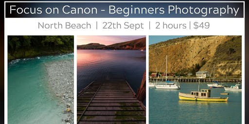 Focus on Canon - Beginners Photography Session