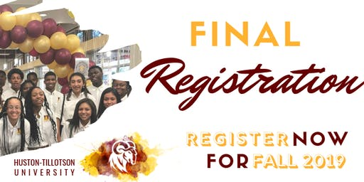 Huston-Tillotson University One Day Registration