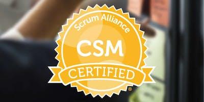 Certified Scrum Master Training Class in Washington DC (CSM)