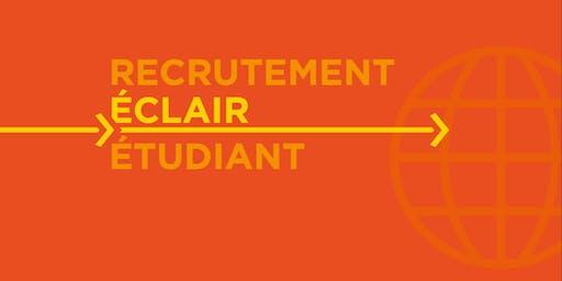 Recrutement éclair étudiant 2019 - Inscription des Entreprises