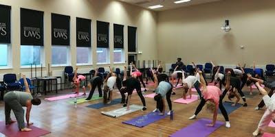 Summer Yoga Classes at UWS Lanarkshire