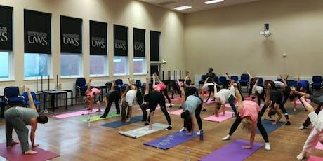 Summer Yoga Classes at UWS Lanarkshire tickets