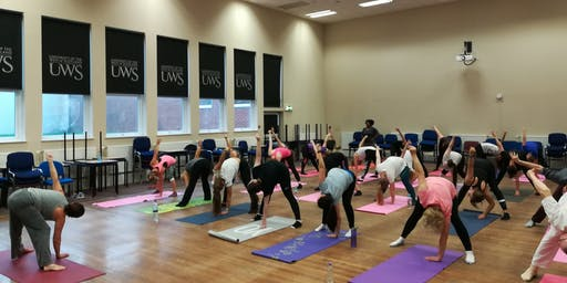 Summer Yoga Classes at UWS Lanarkshire