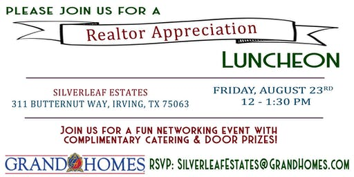 Realtor Appreciation Luncheon