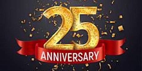 25th Anniversary Dinner tickets