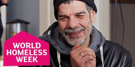 World Homeless Week tickets