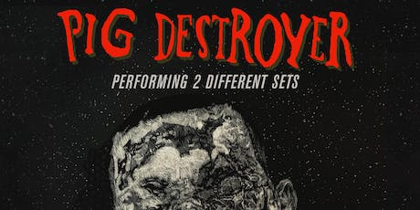 Pig Destroyer, Genocide Pact, Sunrot tickets