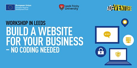 Build a Website for your Business - no coding needed! tickets