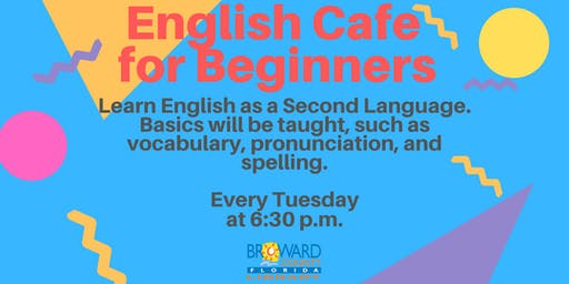 English Cafe — For Beginners of English as a Second Language