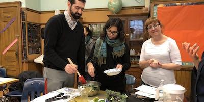 Winter Garden Workshop at Cook Elementary
