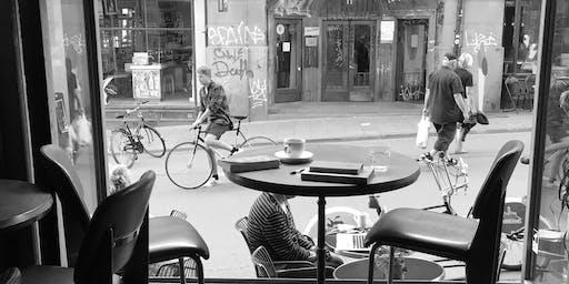 Coffee Shop Walk / Shahram Khosravi
