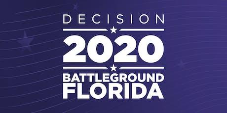 DECISION 2020:  BATTLEGROUND FLORIDA tickets