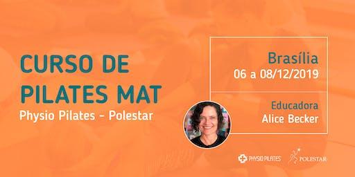 Curso de Pilates Mat - Physio Pilates Polestar - Brasília