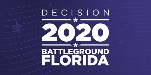 DECISION 2020:  BATTLEGROUND FLORIDA with Andrew Gillum