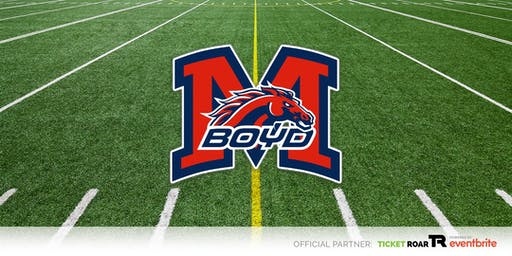 McKinney Boyd vs MHS  Varsity Football