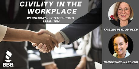 Civility in the Workplace tickets