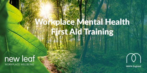 Mental Health First Aid Training 2 Day Accredited Course November 2019 Taunton