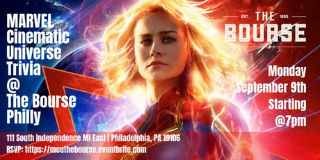 Marvel Cinematic Universe Trivia at The Bourse tickets