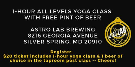Yoga and Beer with Becca tickets