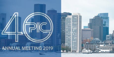 2019 PIC Annual Meeting tickets