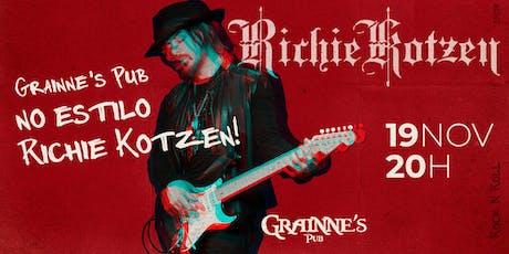 Richie Kotzen no Grainne's ingressos