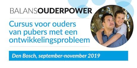 BalansOuderpower, cursus in Den Bosch tickets
