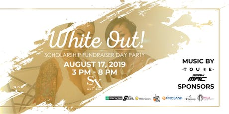 The White Out Scholarship Fundraiser and Day Party tickets