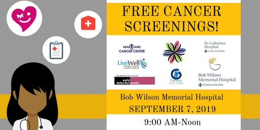Free Cancer Screenings- Appointments