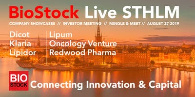 BioStock Live STHLM August 27
