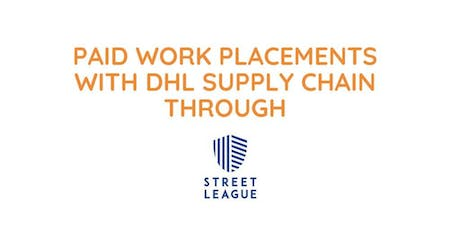 Paid Work Placements through Street League tickets