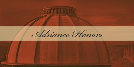 Adriance Honors 2019 tickets