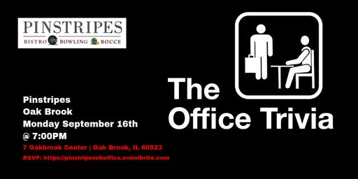 The Office Trivia at Pinstripes Oak Brook