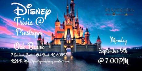 Disney Movie Trivia at Pinstripes Oak Brook tickets