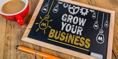 Getting Back to Business:  How to Start Growing your Business tickets