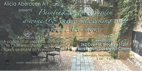 Paintings In The Garden tickets