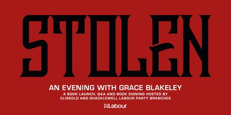 Stolen: an evening with Grace Blakeley (book launch, Q&A and book signing) tickets