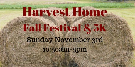 Harvest Home Fall Festival and 5K  tickets
