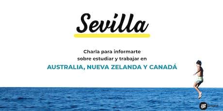 Charla YouTOOProject en Sevilla: Australia, Nueva Zelanda y Canadá entradas