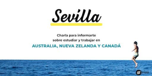 Charla YouTOOProject en Sevilla: Australia, Nueva Zelanda y Canadá