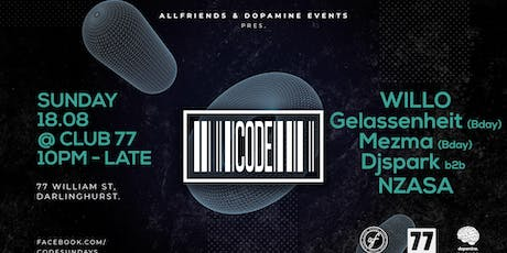 Code #12 Ft. Willo tickets